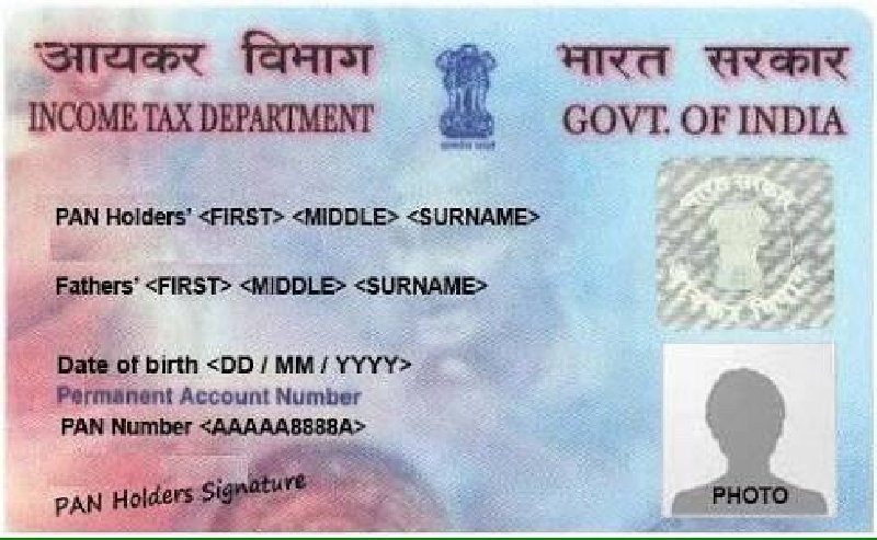 Meaning of the numbers on PAN Card