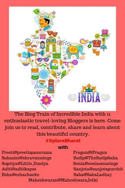Xplore Bharat Blog train