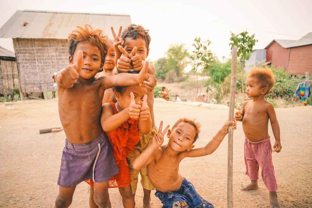 Children in rural India