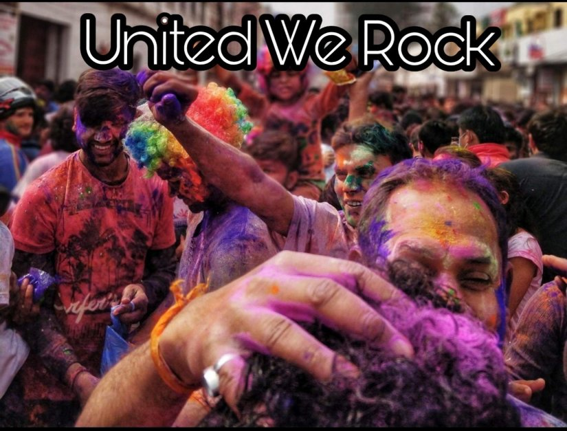 United we rock