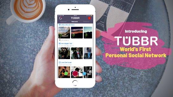 TUBBR Social Networking app
