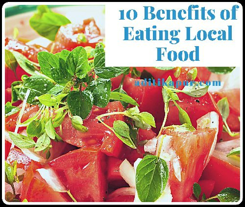Benefits of local food