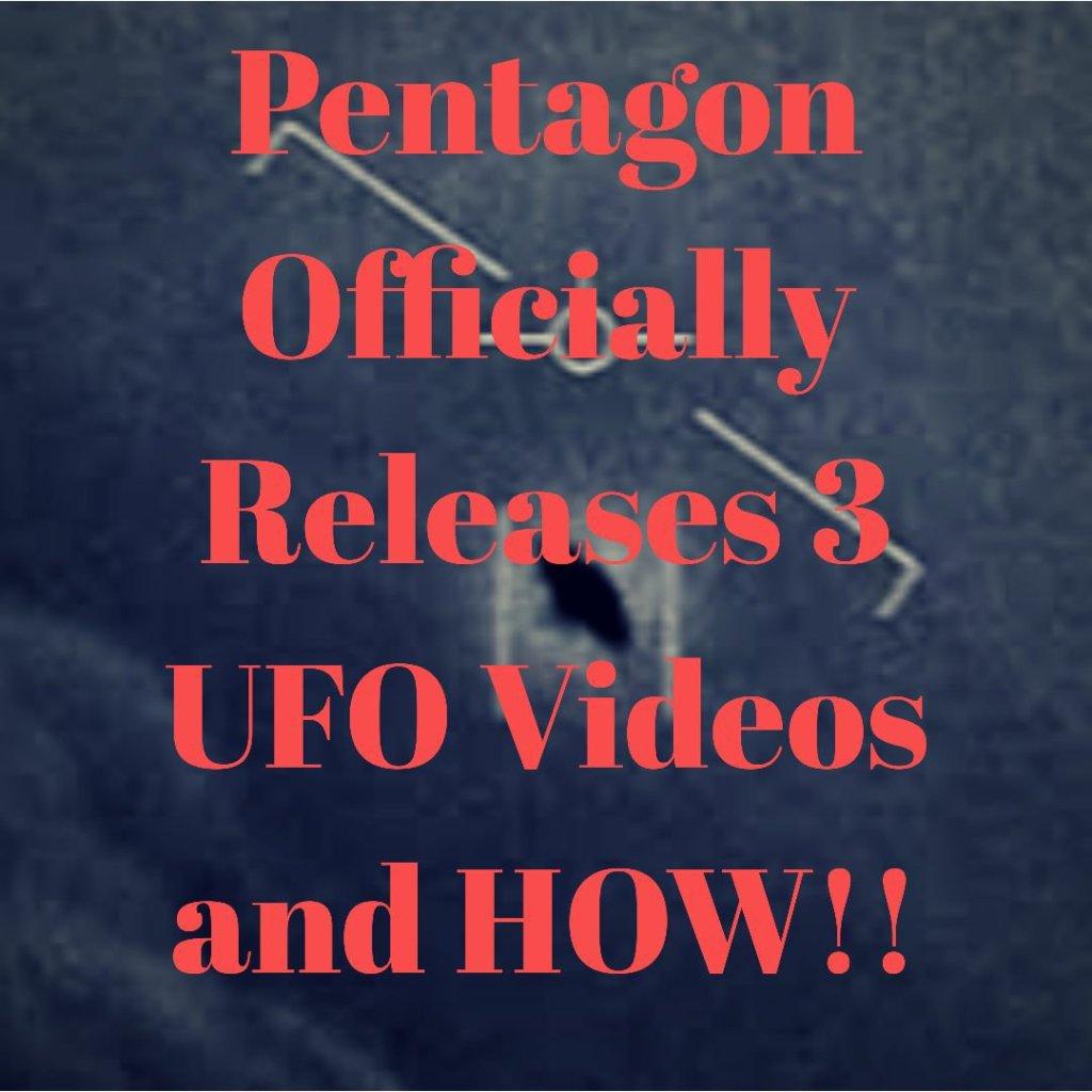 Pentagon releases 3 UFO Videos