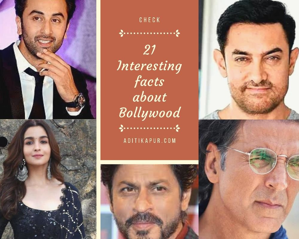 Interesting facts about Bollywood