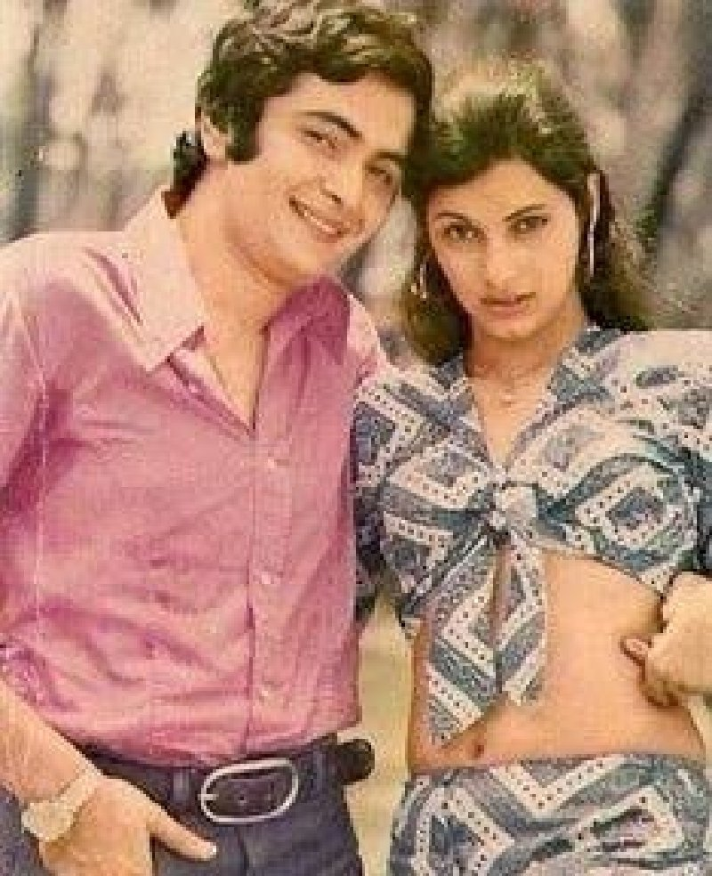 Rishi Kapoor, Dimple Kapadia in Bobby