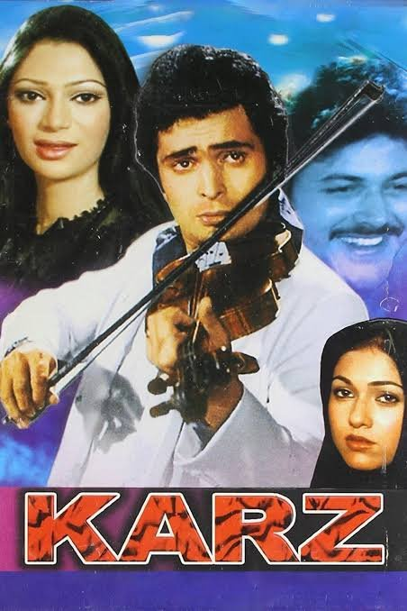 Karz starring Rishi Kapoor and Tina Munim