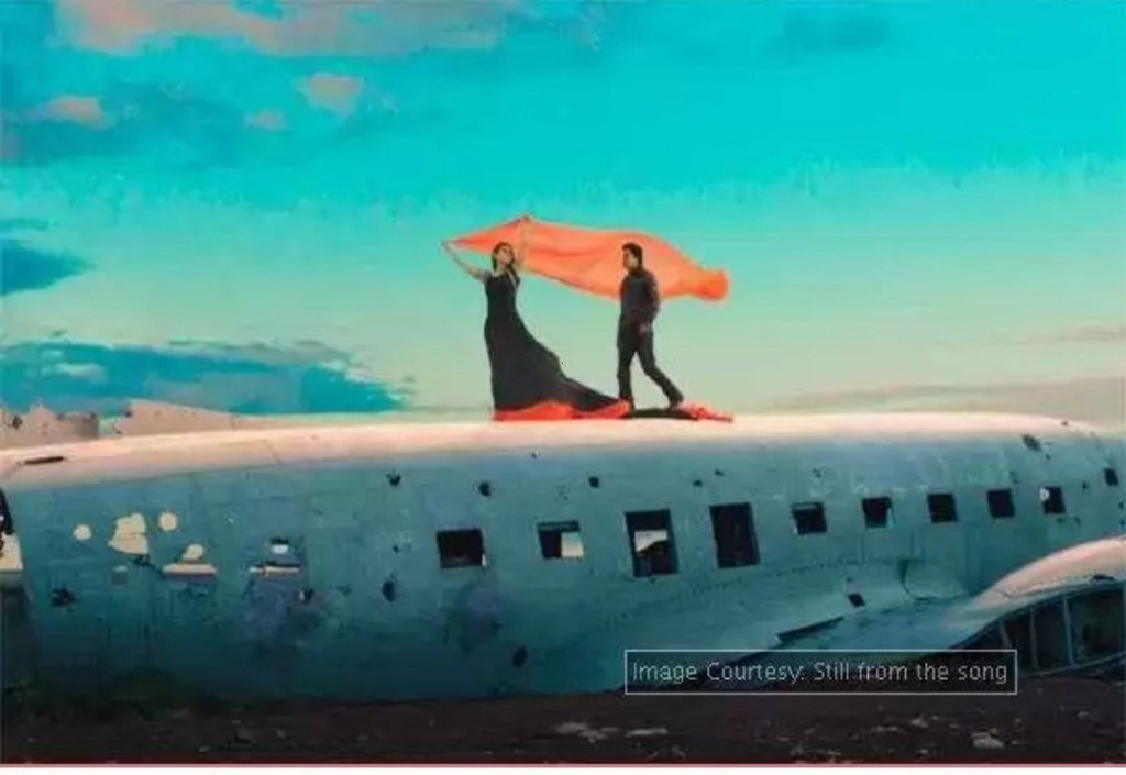 Gerua song from Dilwale