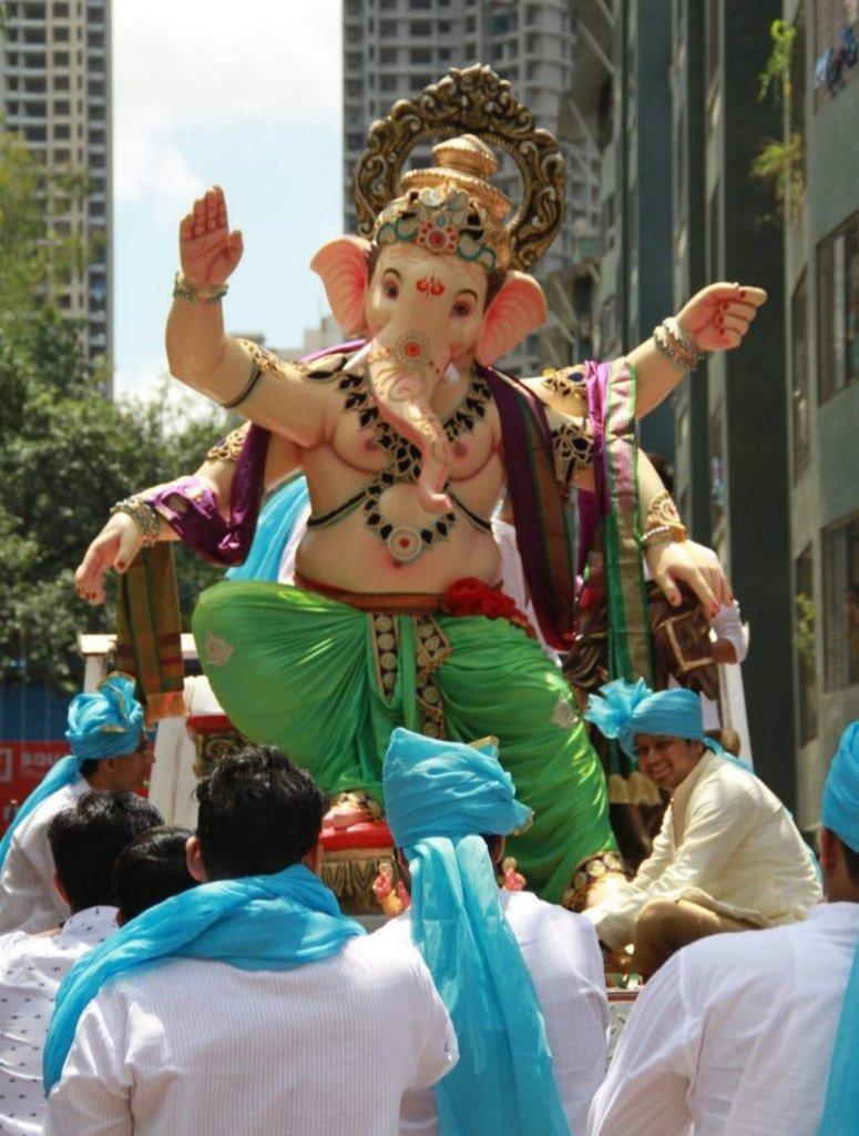 Eco-friendly Ganesh murti